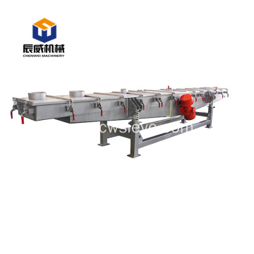 linear vibrating feeder used in mining industry